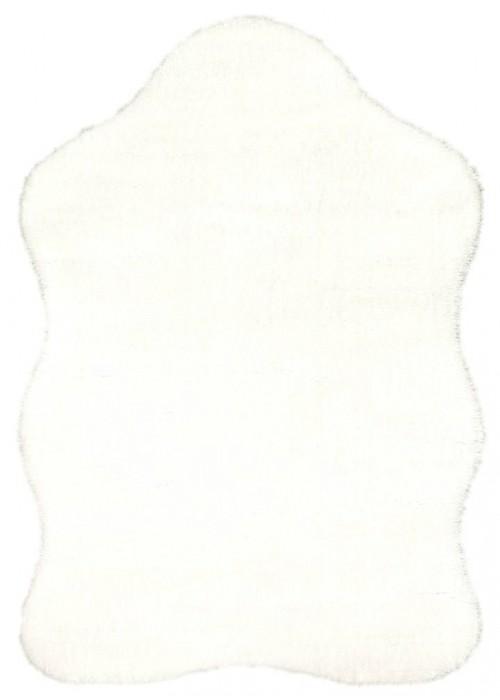 Пушистый ковер-шкура Puffy Skin White
