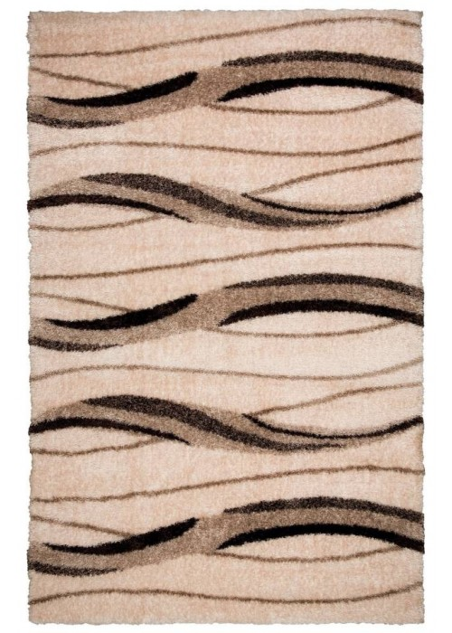 Пушистый ковер Puffy Art Beige/Vizon прямоугольный