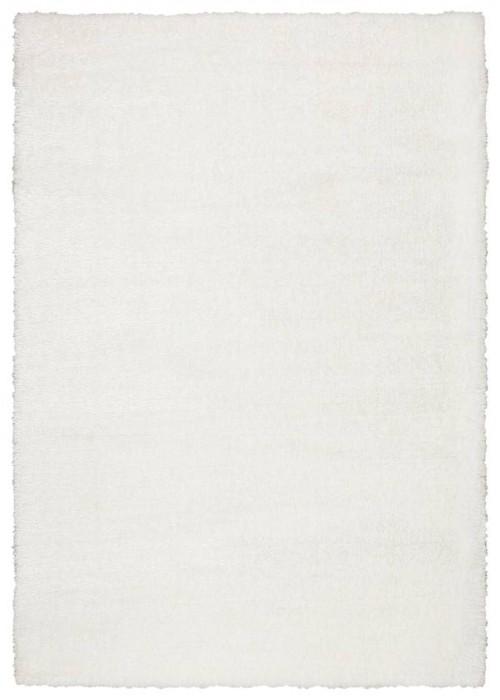 Пушистый ковер Puffy Luxe White прямоугольный
