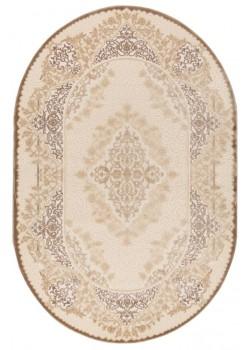 Ornament 3439 Beige/Cream овальный