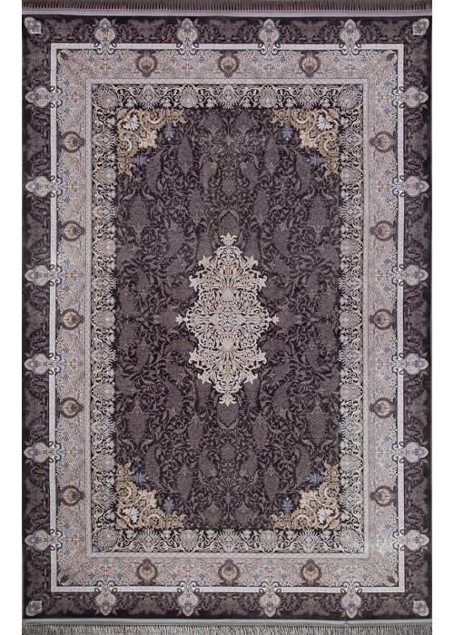 Иранский ковер из акрила Behbahan 1200-2047 Dark gray прямоугольный