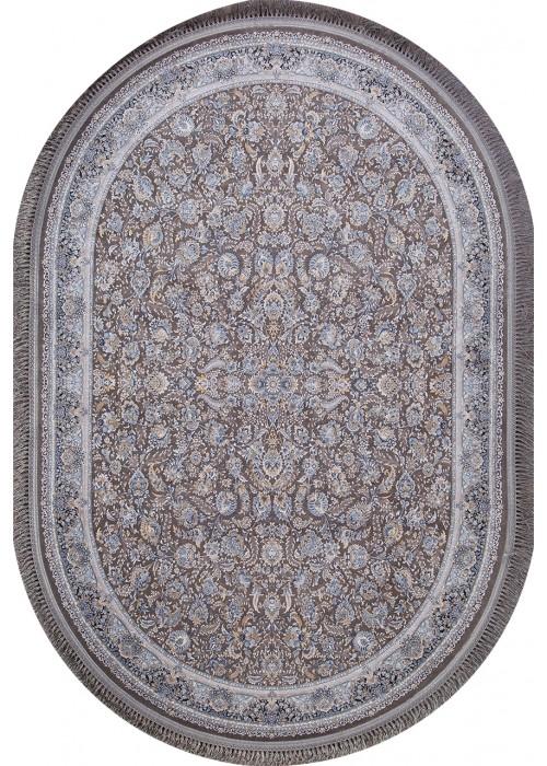 Иранский ковер из акрила Behbahan 1200-2056 Gray овальный