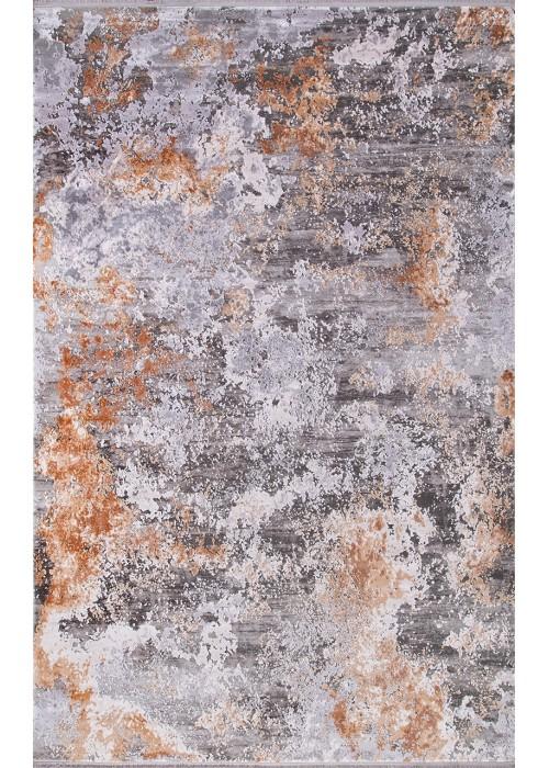 Ковер из эвкалиптового шелка Sakarya 8012 a.Gri/a.Gri прямоугольный